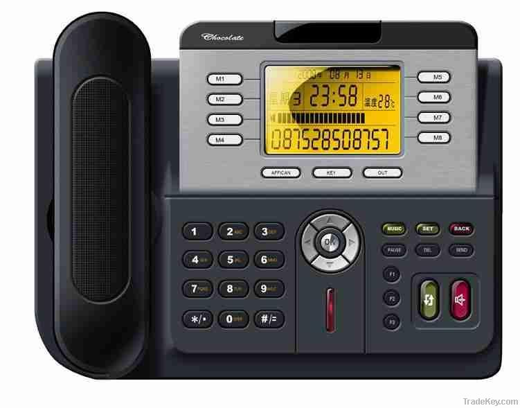 Enterprise HD IP Phone TS330 with 3 sip account, POE