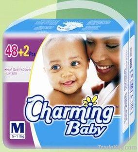 Hot! A grade disposable baby diaper
