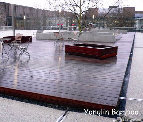 Yonglin Outdoor strand woven bamboo decking