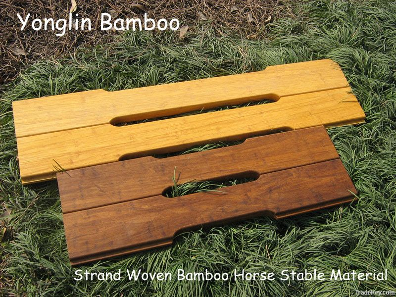 E-CO friendly horse stable material