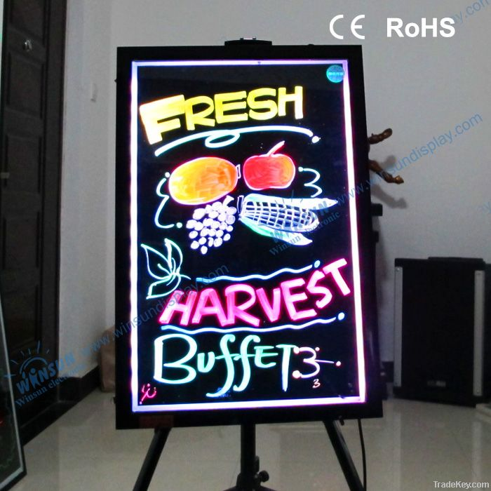 new invention led drawing board for kids