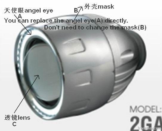 HID BI Xenon Lens and Angel Eyes