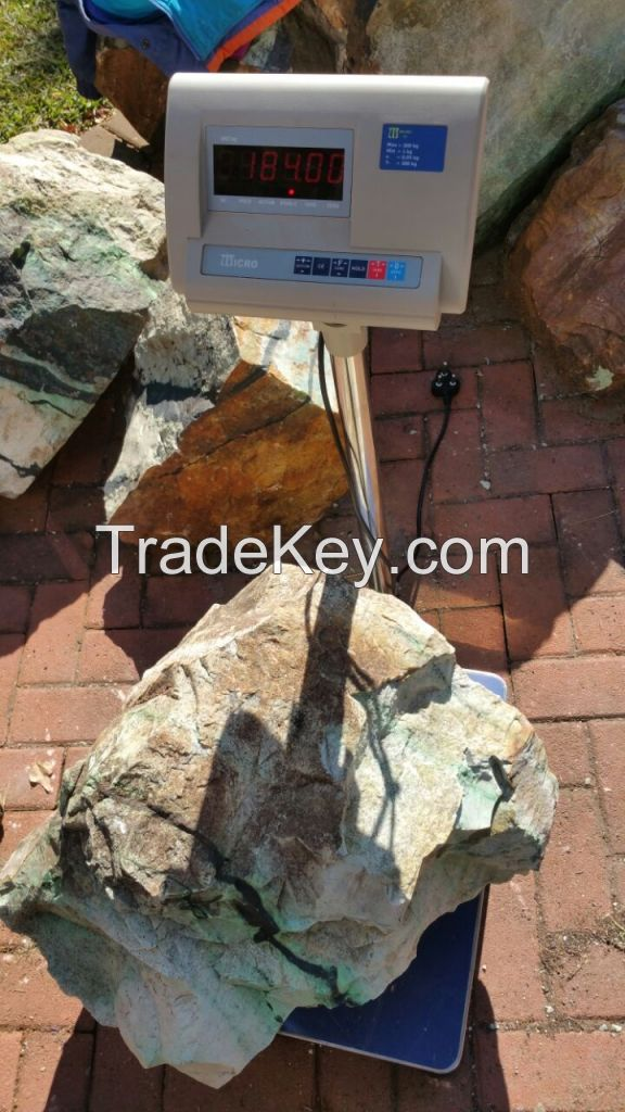 Transvaal Jade Grossular Garnet Pistachio Type 263.1kg