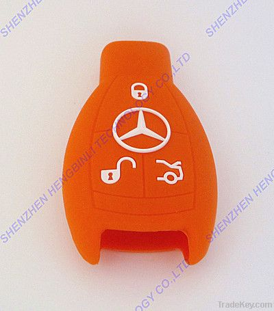 Popular Silica Gel Key Shell Case for Benz