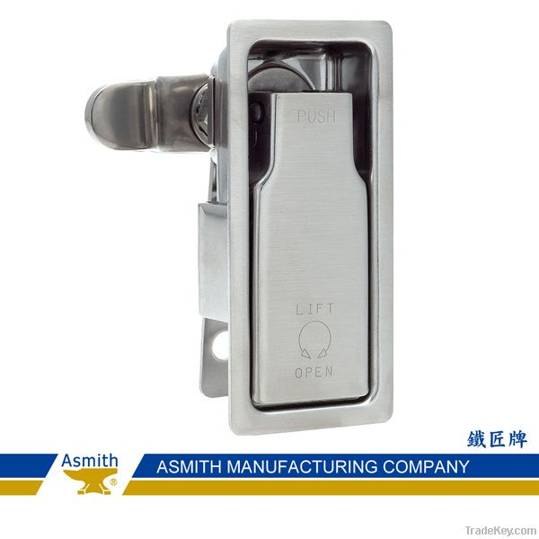 Lift and Turn Compression Door Latches