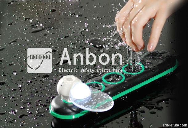 ANBON Water Resistant Heatproof Extension Outlet/SocketPatent Designed