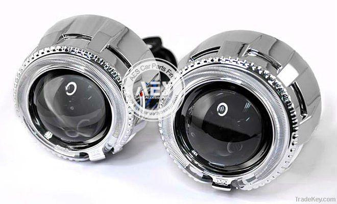 AES Bi-xenon HID projector lens /car lighting lens/car headlight lens