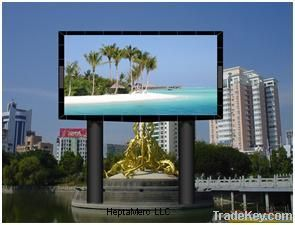 Full color LED display P16