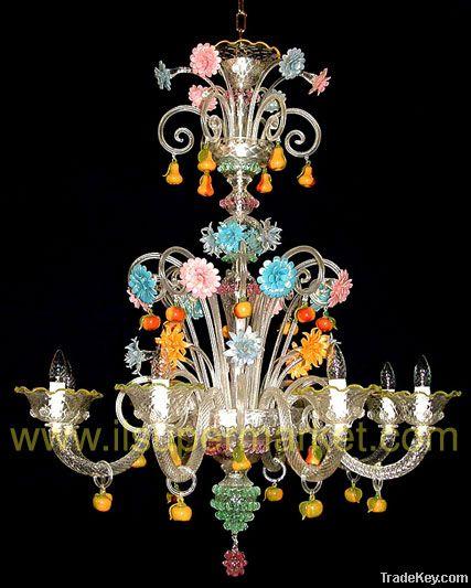 Venetian chandelier San Bartolomeo - 8 lights