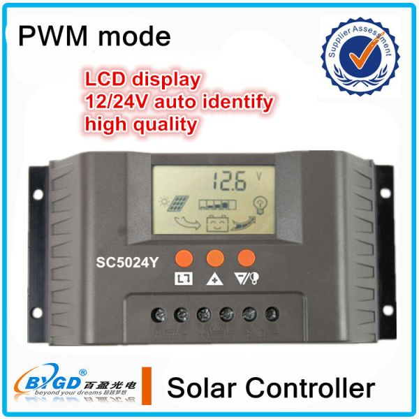 40A 12v/24v home use solar power controller with LED diaplay