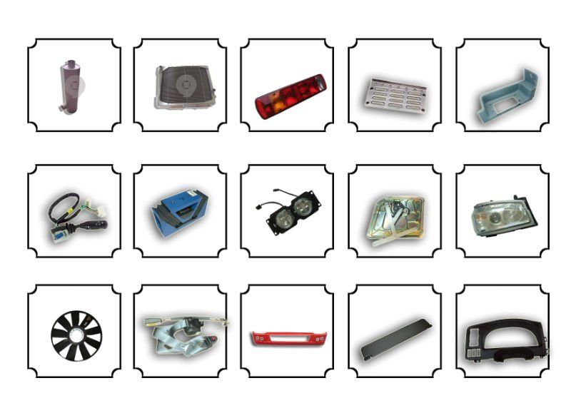 Engineering machinery spare parts