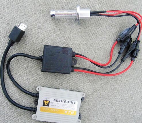 H4 Bi/Duo Xenon HID Kit