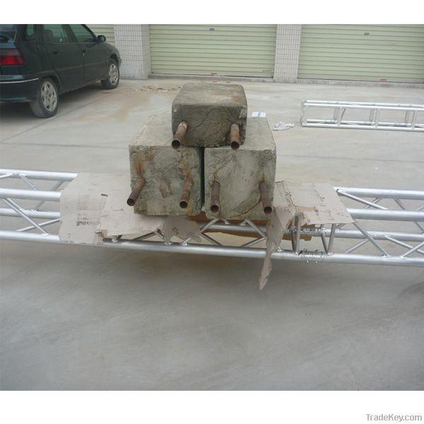 2012 OEM PinYuan 6061/T6  290mm aluminum truss for light and speaker