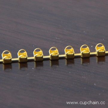 D cup chain, empty cup chain