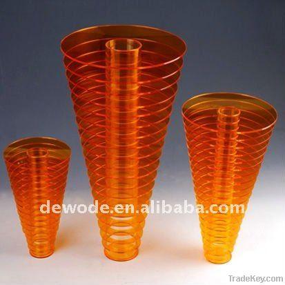 acrylic flower vase, wedding gift