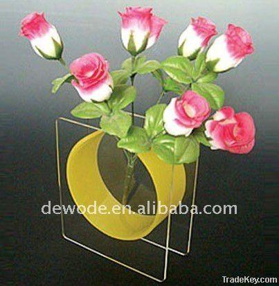 acrylic flower vase, Christmas gift