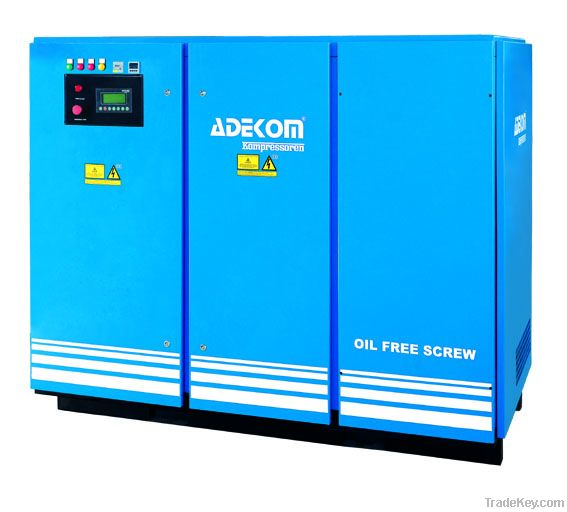 Oil Free Rotary Screw Compressor