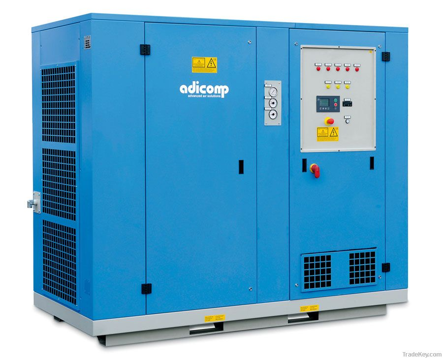 Two Stage Screw Compressor