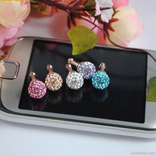 Hot sale item cell phone jack pin ear caps