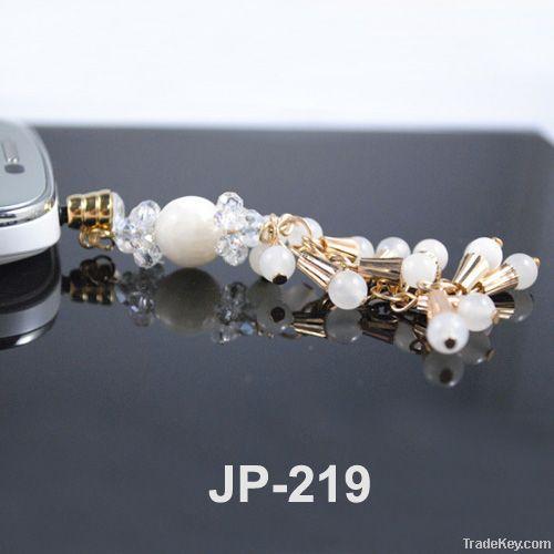 2012 newest dustproof ear plug minipol ear cap earphone jack pin