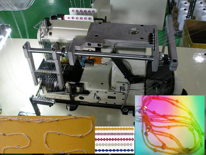 Spangle Loop Making Machine