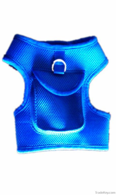 air mesh soft dog vest harness