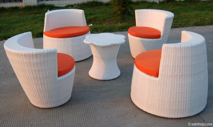 outdoor furniture rattan dining table