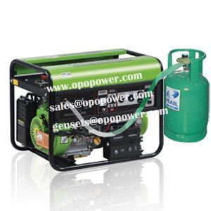 1.8/2/2.5/3/5/5.5/6/6.5/7KVA/KW Natural gas generator