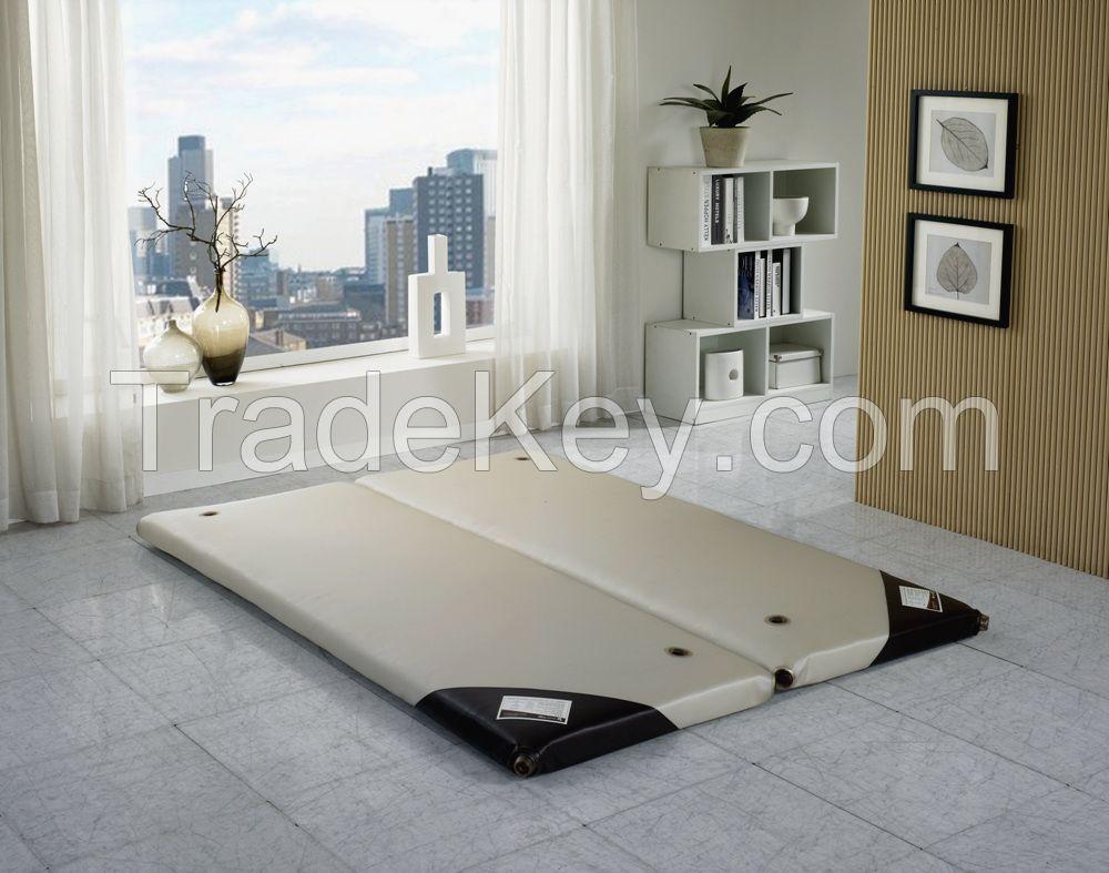 Self heated water mattress