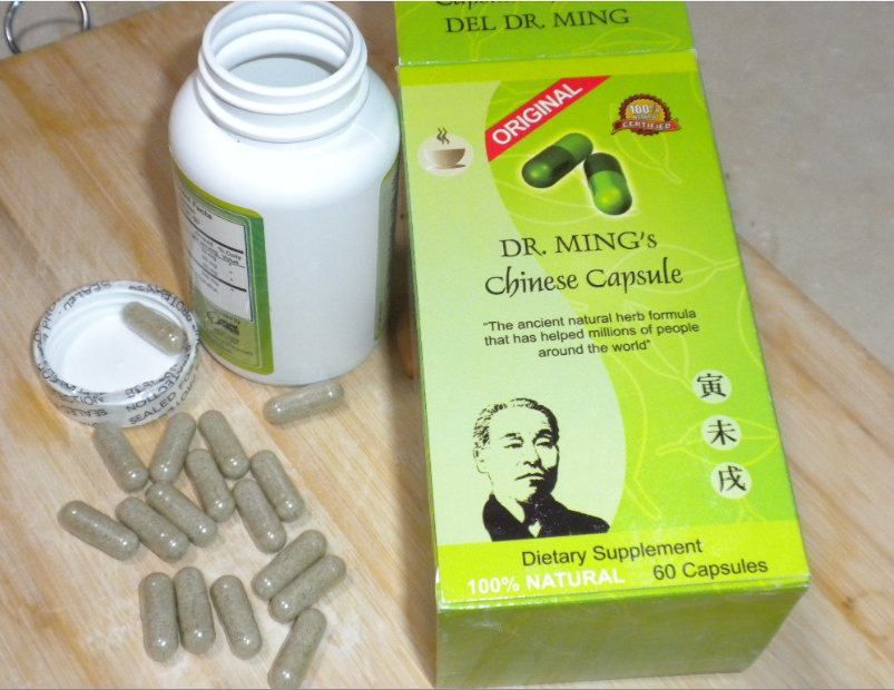 Rapidly Slimming Diet - Dr. Ming's Weight Loss CapsuleORIGINAL