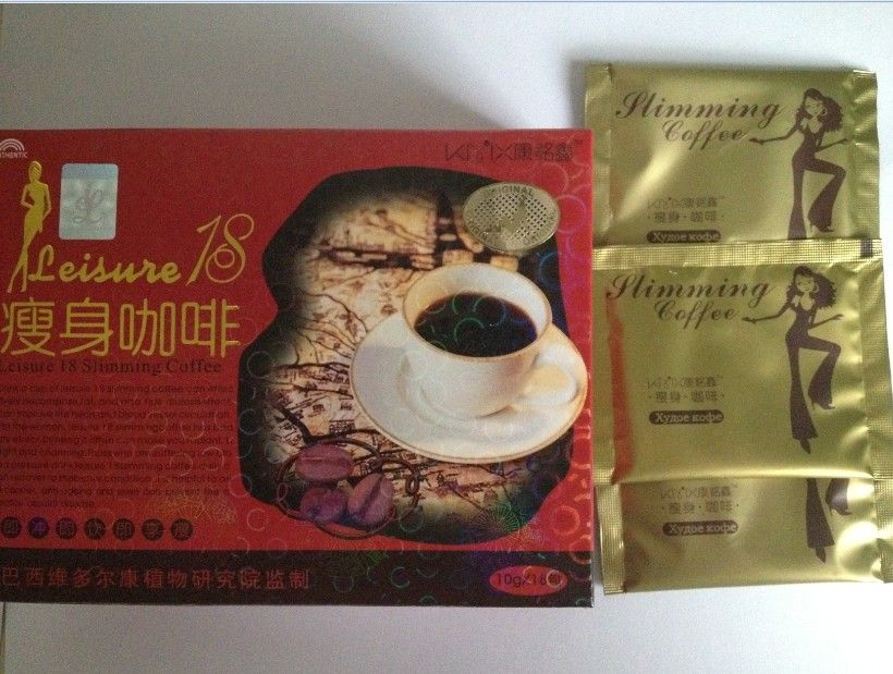 2013 New Leisure 18 slimming coffee lose weight coffee