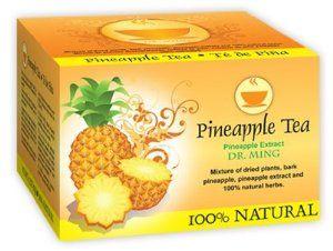 te chino del dr ming pineapple tea bags slimming tea Chinese tea