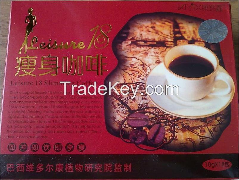 Leisure 18 slimming coffee