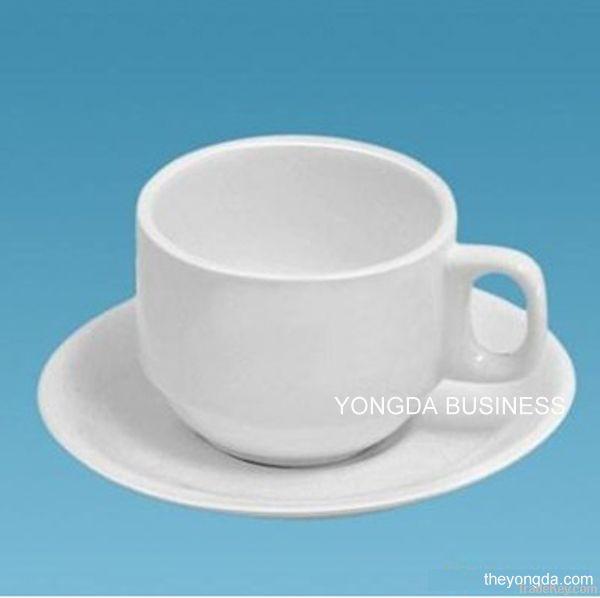 Ceramic / Porcelain coffee mugs and saucers, coffee set