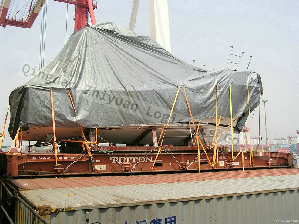 Sea Freight of Flat Rack / Open Top contain