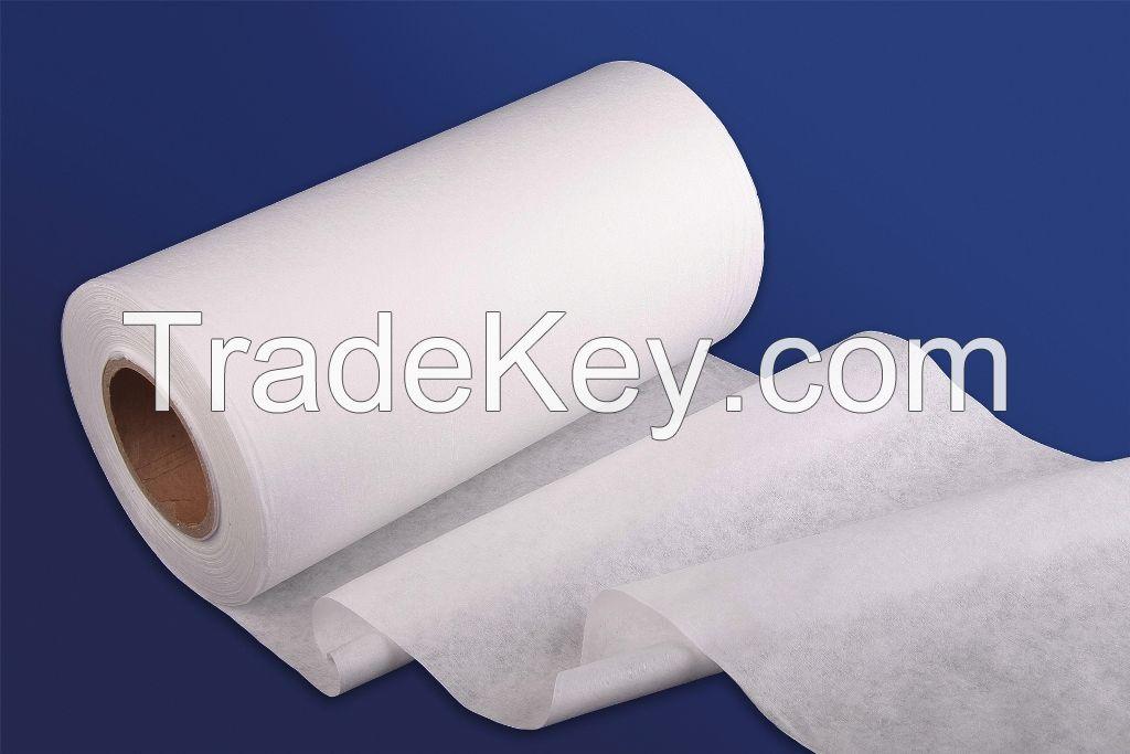 Medical use spunlace nonwoven fabric