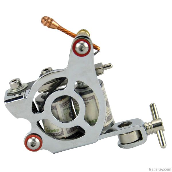 4pcs tattoo machine guns delivery of 15 color lacquered tattoo pigment