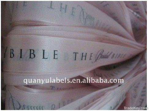 silk screen ribbon