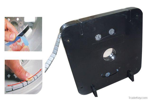 Fe/iron adhseive wheel balance weight