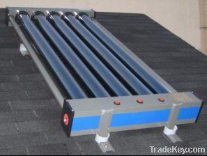 Dixie evacuated tube solar collector