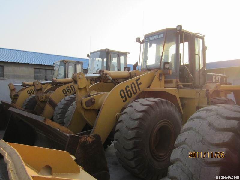 Used caterpillar wheel loader 960F