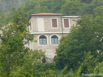 Italy/Liguria/Imperia/Prelà/Restored Watermill