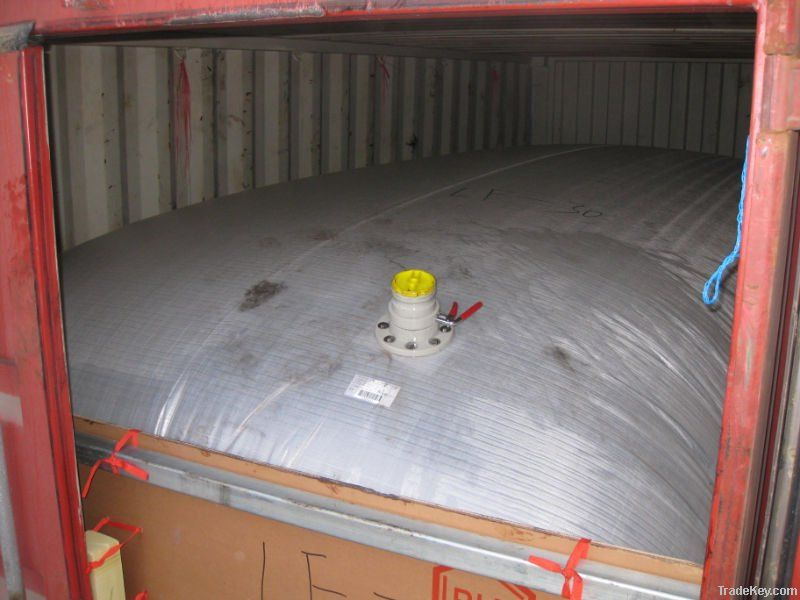 Flexitank for Propylene Glycol, Polyether, Lubricant oil transport