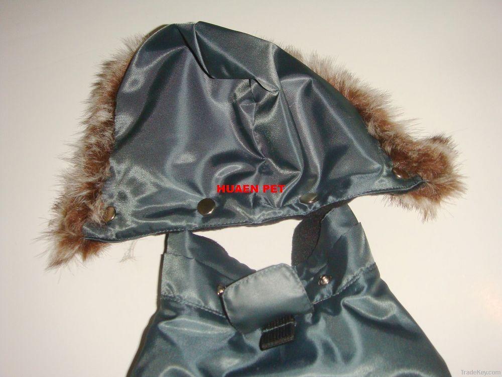Pet/Dog winter outerwear raincoat Snowsuits