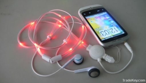 Magic LED Flashing Earphone