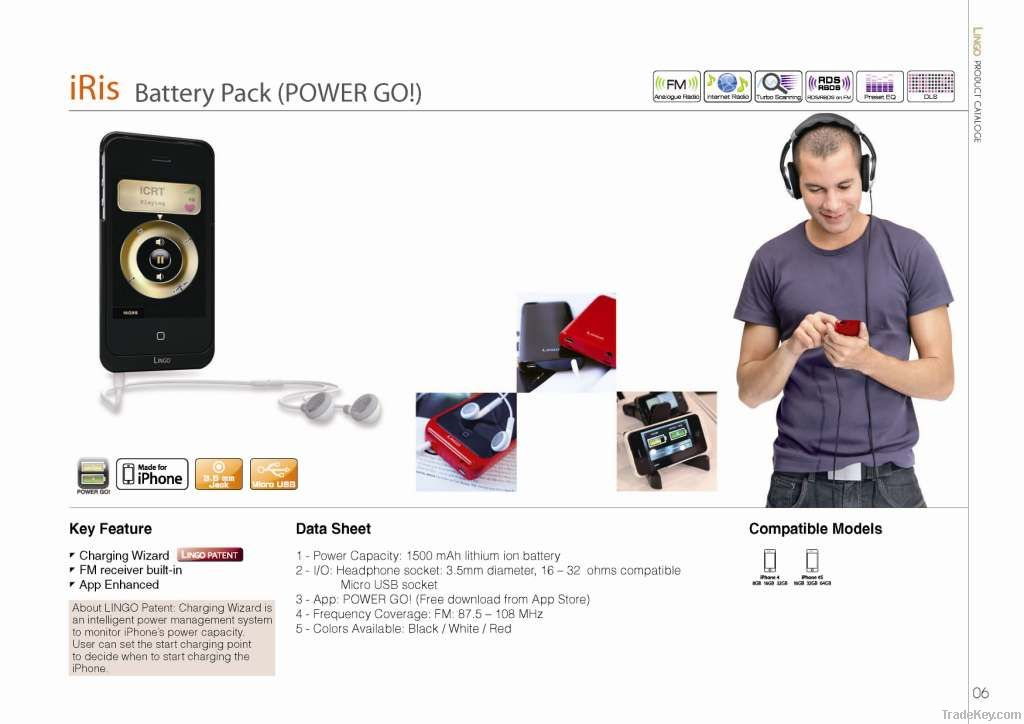 Battery Pack For IPhone (Smartphone)