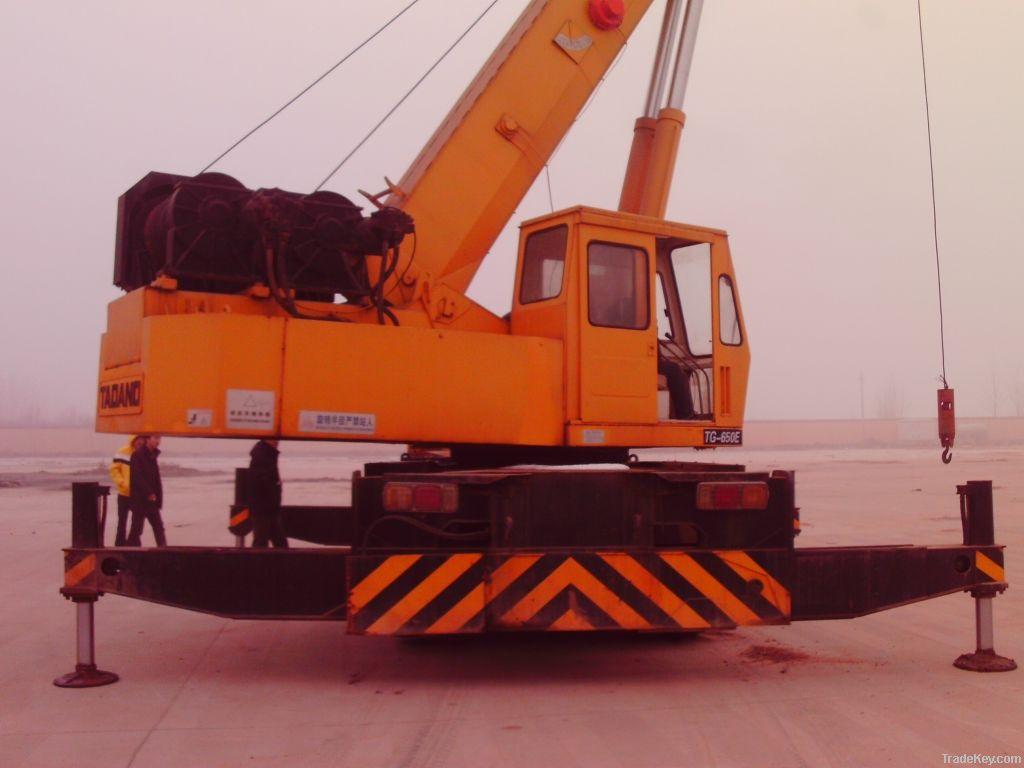 Used tadano crane 50 ton