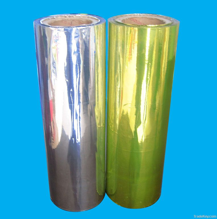 Metallized PVC Film(gold/silver)