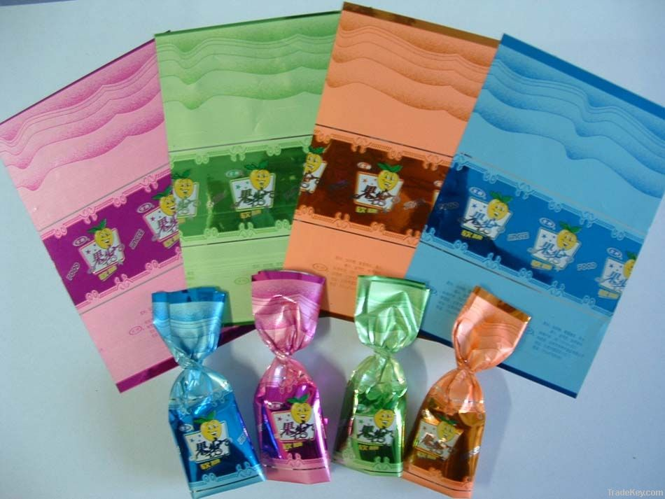 Twist PVC Film for printing candy packaging