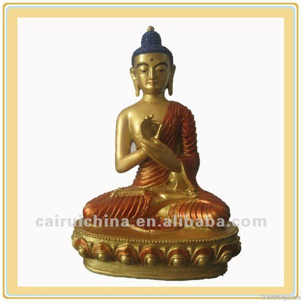 Bronze or Brass Buddha Statue For Sale